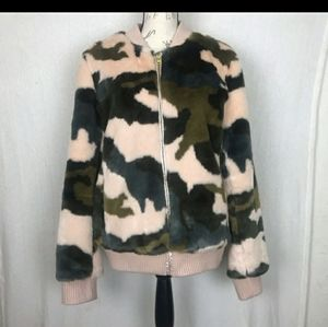 Andrew Marc Jackets & Coats - ***SOLD***fur camo jacket